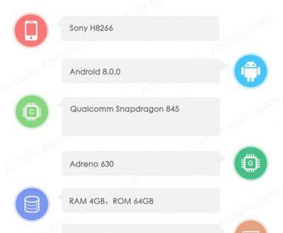 سونی گوشی H8266 را با نمایشگر ۱۸:۹ عرضه میکند – فناوری