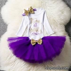لباس عید دخترانه رنگ سال ۲۰۱۸