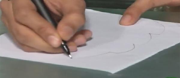 تزیین پلو مجلسی با استفاده از کاغذ روغنی