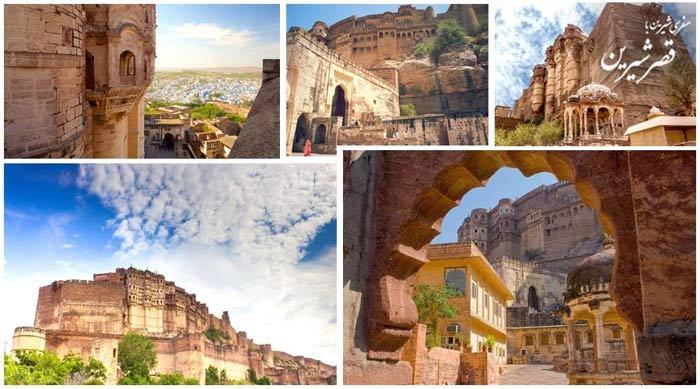 قلعه mehrangarh هند