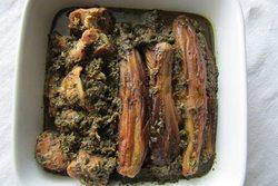 طرز پخت خورش نازخاتون گیلانی با مرغ