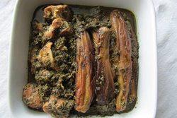 دستور پخت خورش نازخاتون گیلانی با مرغ