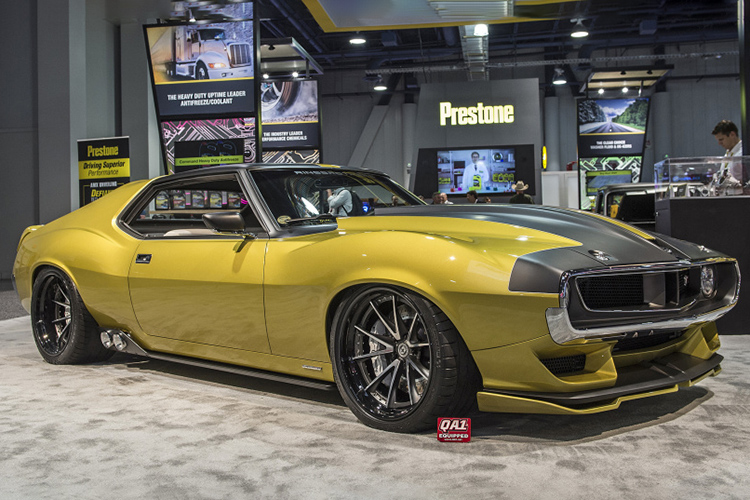 AMC JAVELIN muscle car / AMC جاولین خودروی عضلانی
