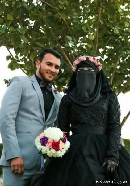 لباس عروس سیاه