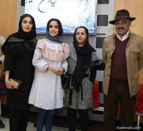 مانتو بازیگران جشنواره فجر