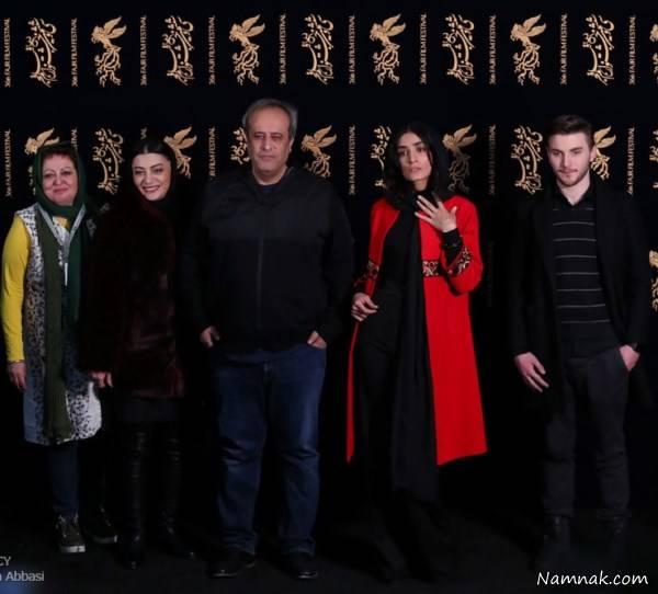 مانتو بازیگران زن در جشنواره فجر 96