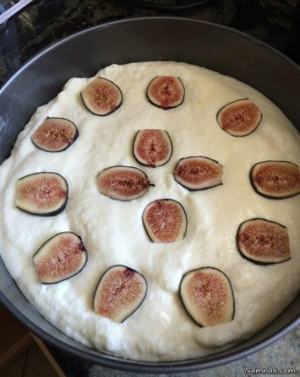 کیک با انجیر