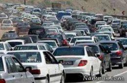 یکطرفه شدن جاده چالوس در روز های ۲۸ و ۲۹ اسفند ۹۶