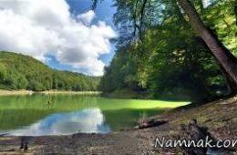 دریاچه چورت یکی از زیباترین جاذبه های تفریحی استان مازندران