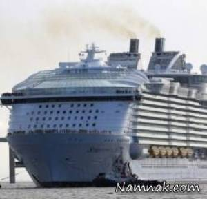 ساخت بزرگترین کشتی کروز جهان