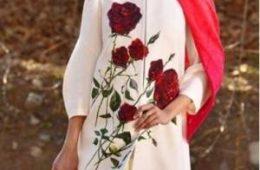 مدل مانتو گلدوزی شده زیبای سال ۹۷