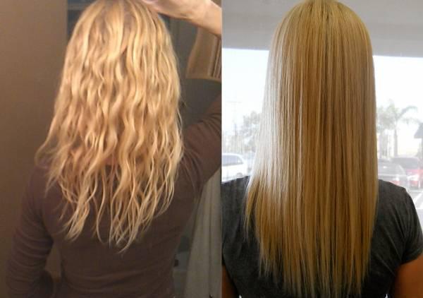 صاف کردن مو با گلت بهتر است یا کراتینه ؟