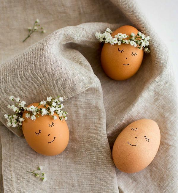 عکس تزیین روی تخم مرغ سفالی هفت سین