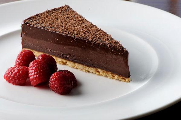 عکس تارت شکلاتی