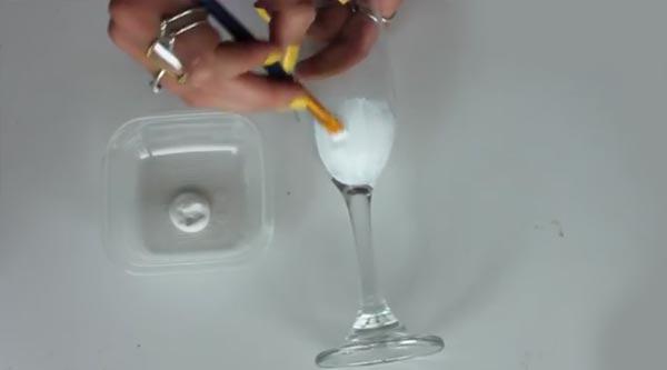 درست کردن جام عروسکی برای تزیین هفت سین عروس