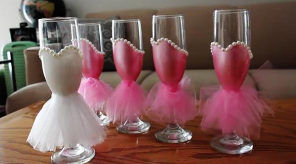 روش درست کردن جام عروسکی برای تزیین هفت سین عروس