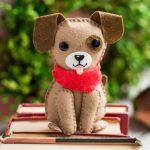 روش درست کردن ۲ مدل سگ نمدی فانتزی برای هفت سین