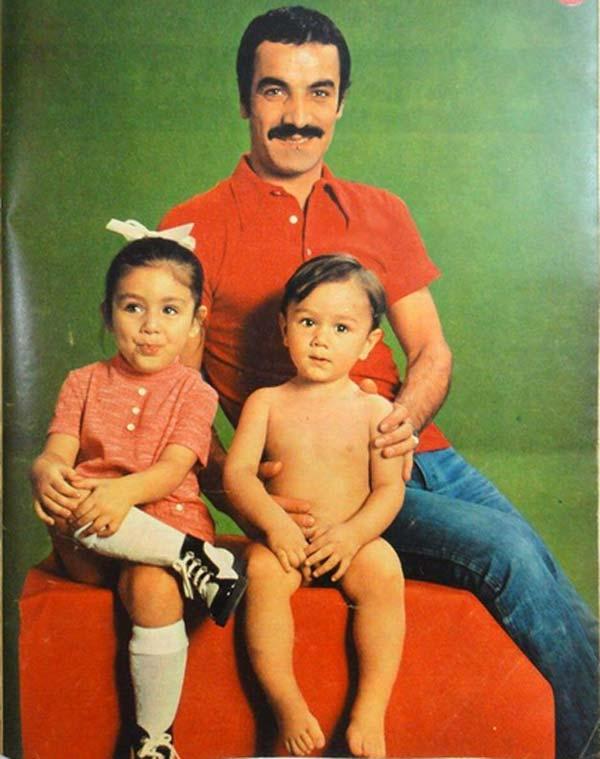 سعید راد و فرزندانش
