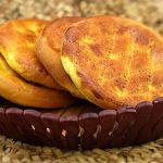 دستور پخت نان فطیر مغزدار بدون فر