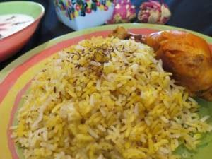 دستور پخت زیره پلوی کرمانی