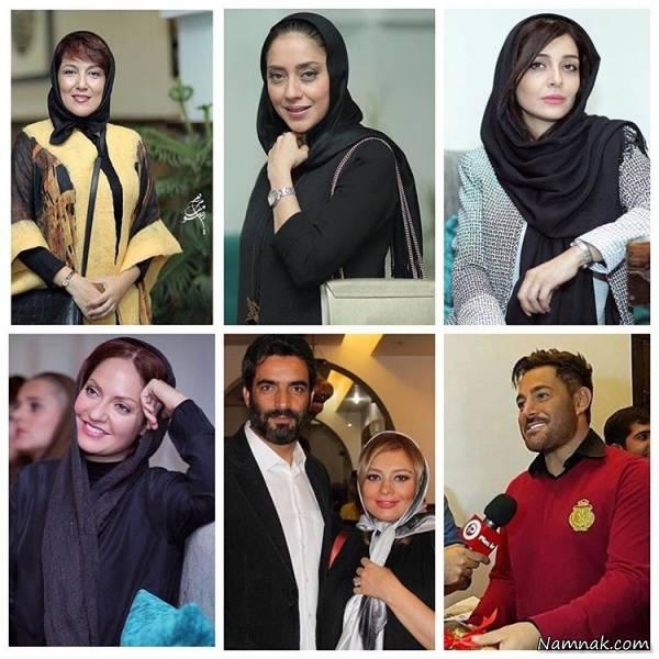 افراد مشهور در رستوران محمدرضا گلزار