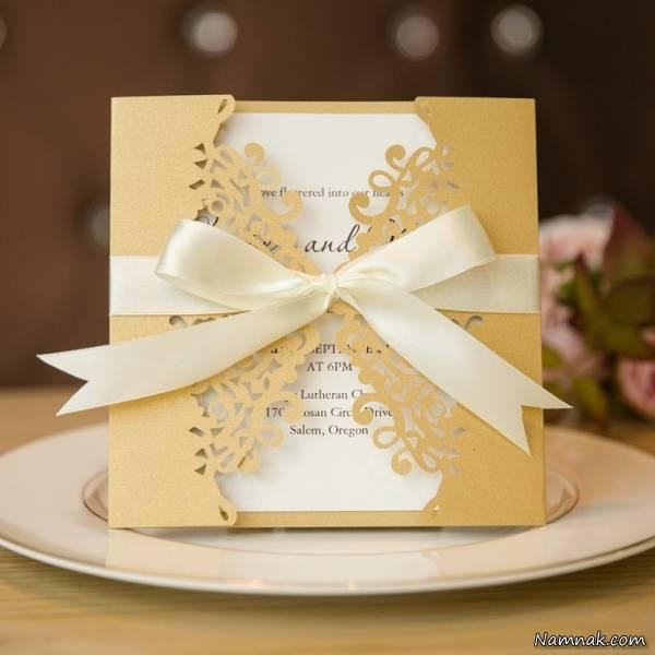 کارت عروسی جدید