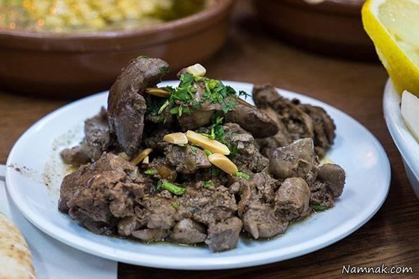 کباب جگر عربی