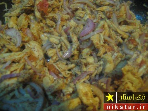 طرز تهیه شاورما مرغ لبنانی