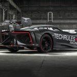 تکرولز رن RS، ابرخودروی برقی ساخت چین رونمایی شد
