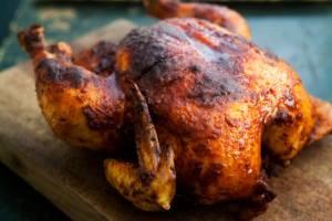 دستور پخت مرغ بریان با پاپریکا و سیر