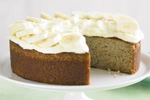 دستور پخت کیک موز بسیار خوشمزه