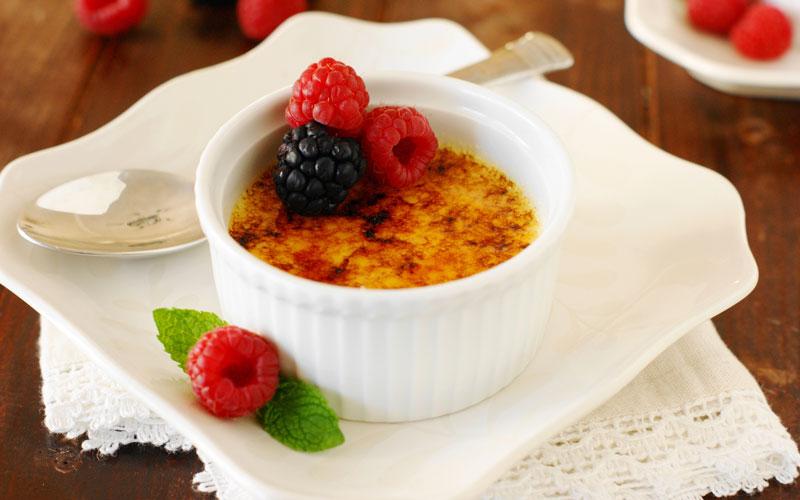 کرم بروله (Crème brûlée) – فرانسه