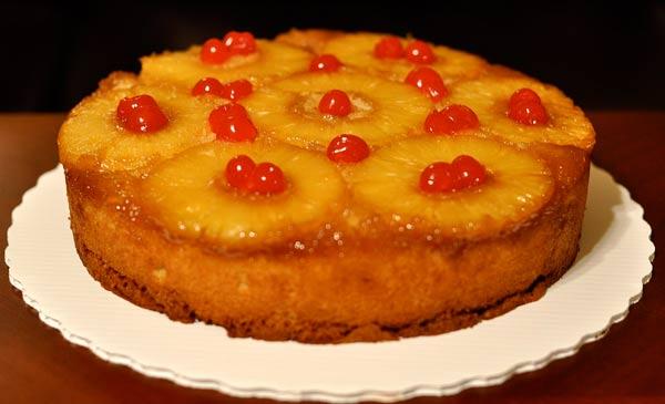 کیک با آرد ذرت