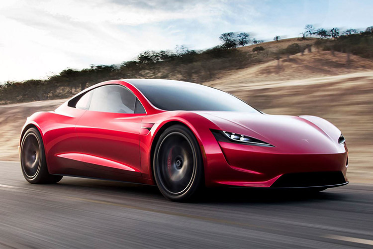 تسلا رودستر tesla roadster 2020