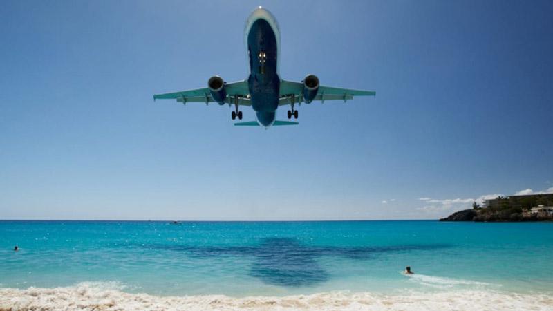 منظره فرودگاهی زیبا