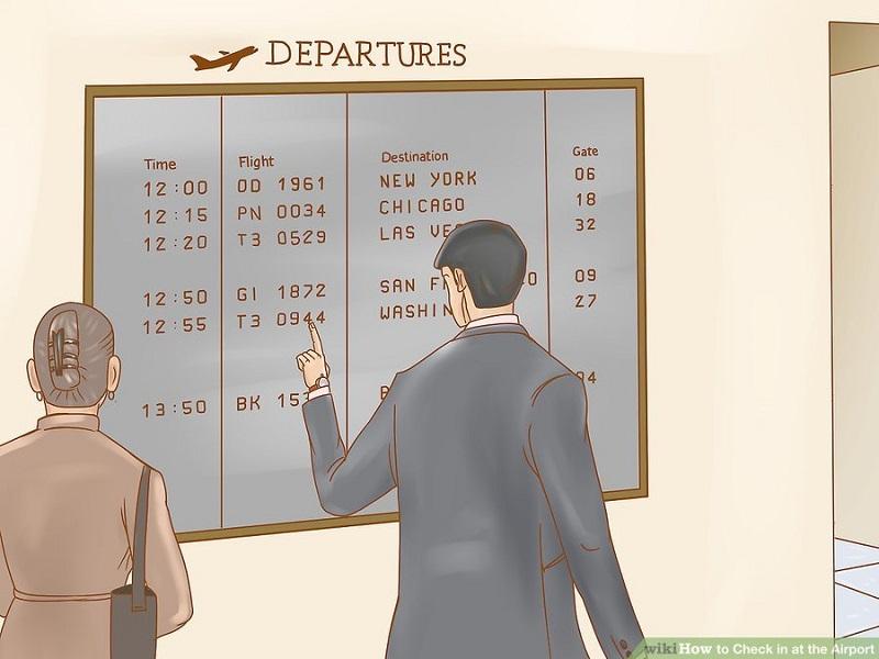 چک این فرودگاه