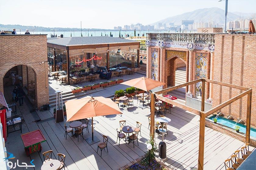 رستوران دروازه طهرون - باملند