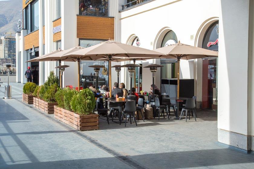 کافه رستوران وارف - باملند