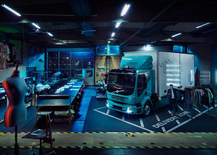 کامیون برقی ولوو FL الکتریک / Volvo FL Electric