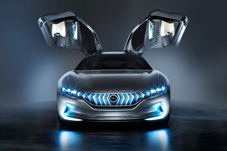 Pininfarina HK GT sport concept / خودروی مفهومی اسپرت HK GT پینینفارینا