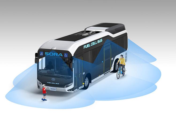 Toyota Hydrogen Fuel Cell Bus Sora / اتوبوس پیل سوختی هیدروژنی تویوتا سورا