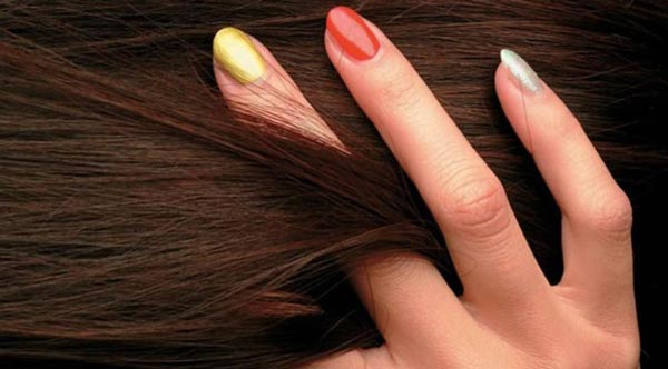 عکس کاربردهای روغن لیمو - تقویت مو و ناخن