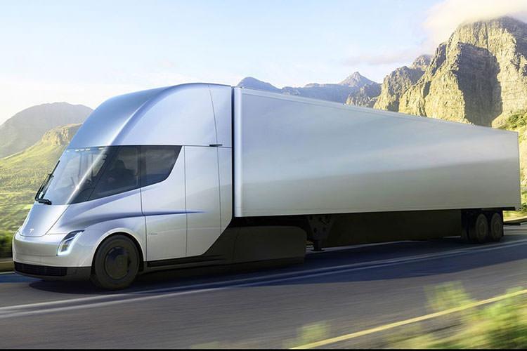 tesla semi electric truck / کامیون برقی تسلا سمی