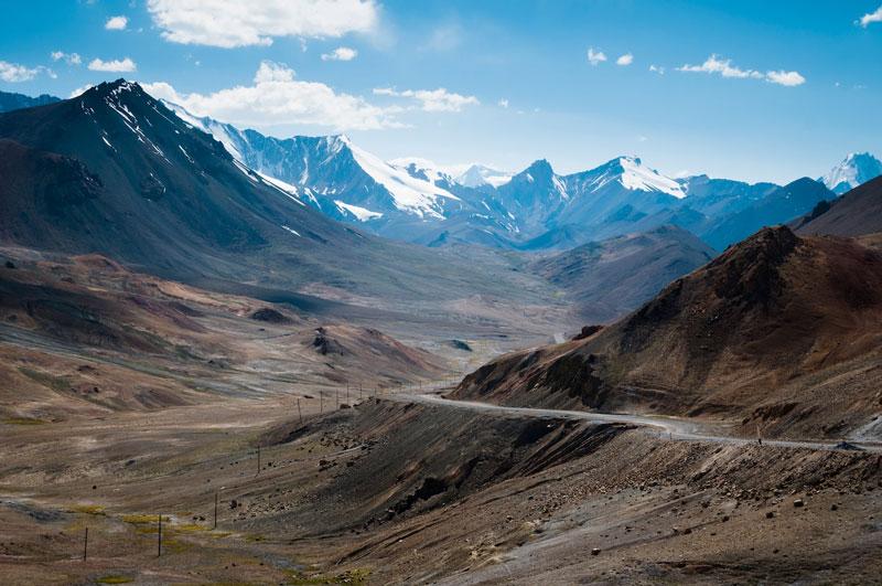 بزرگراه پامیر، آسیا مرکزی