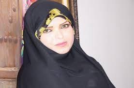 زهرا اشراقی( نوهٔ دختریِ امام خمینی –  همسر محمدرضا خاتمی)