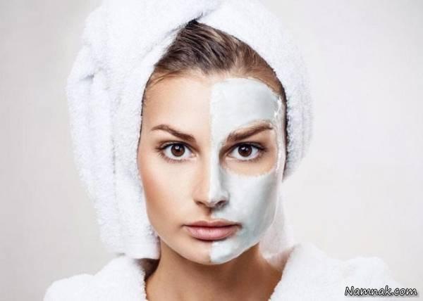 ماسک روشن کننده پوست طبیعی