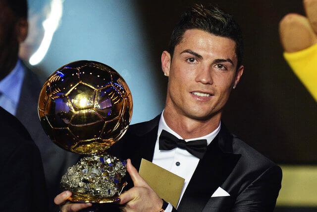 کریستیانو رونالدو,زندگی فوتبالی کریستیانو رونالدو,توپ طلا