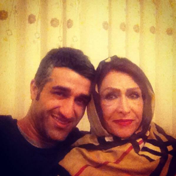 عکس های پژمان جمشیدی,خانواده پژمان جمشیدی,پژمان جمشیدی و مادرش