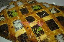 پخت دسر خرمایی مخصوص ماه رمضان