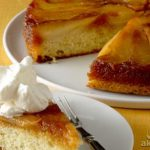 دستور پخت کیک گلابی برگردان